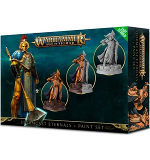 Stormcast Eternals + Paint Set Warhammer Age of Sigmar