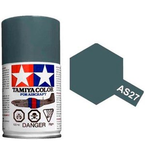 Tamiya Airspray AS-27 Gunship Gray 2 Tamiya 86527 - 100ml