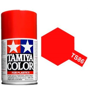 Tamiya Airspray TS-86 Pure Red Tamiya 85086 - 100ml