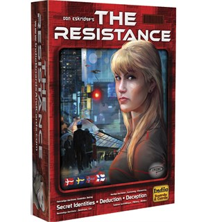 The Resistance Kortspill - Norsk