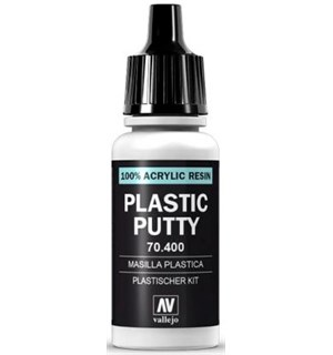 Vallejo Plastic Putty 17ml Modellpasta