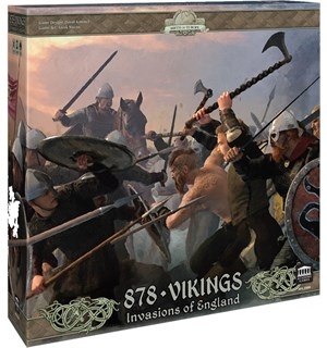 878 Vikings Second Edition Brettspill Invasions of England