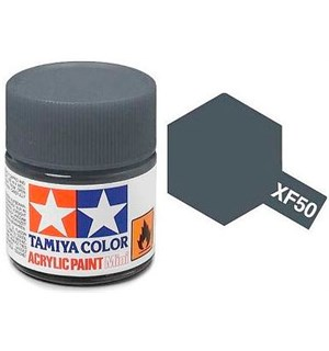 Akrylmaling MINI XF-50 Field Blue Tamiya 81750 - 10ml