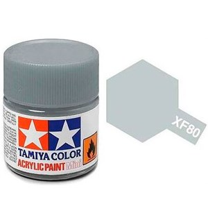 Akrylmaling MINI XF-80 Royal Gray Tamiya 81780 - 10ml