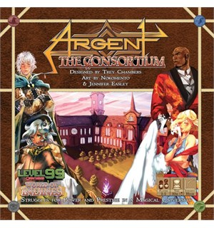 Argent Consortium Brettspill Second Edition
