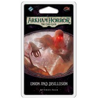 Arkham Horror TCG Union and Disillusion Utvidelse til Arkham Horror Card Game