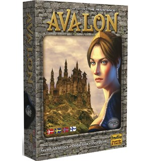 Avalon The Resistance Kortspill Norsk