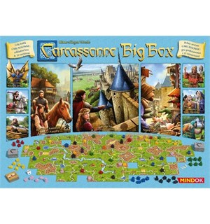 Carcassonne Big Box 2017 Brettspill