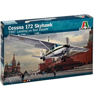 Cessna 172 Skyhawk 1987 Landing on Red S Italeri 1:48 Byggesett