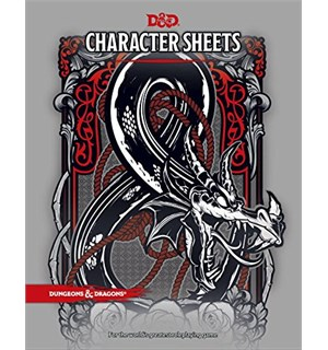 D&D Character Sheets Dungeons & Dragons