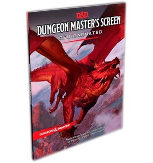 D&D DM Screen Reincarnate Dungeons & Dragons Dungeon Master