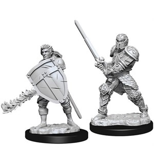 D&D Figur Nolzur Human Fighter Male Nolzur's Marvelous Miniatures - Umalt
