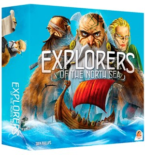 Explorers of the North Sea Brettspill