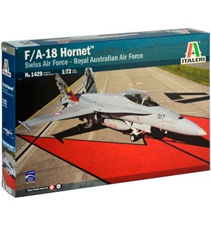 F/A-18 Hornet Swiss Air Force RAAF Italeri 1:72 Byggesett
