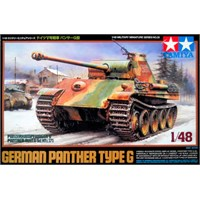 German Panther Type G Tamiya 1:48 Byggesett