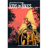 Kids on Bikes RPG Core Rulebook Roleplaying Game - Regelbok