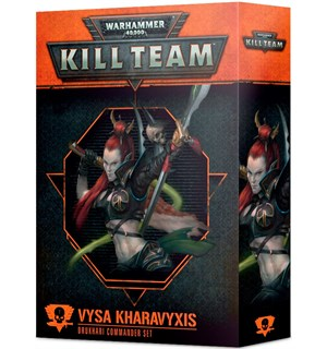 Kill Team Commander Vysa Kharavyxis Warhammer 40K