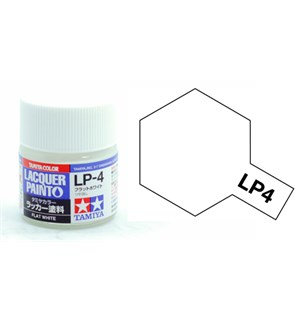 Lakkmaling LP-4 Flat White Matt Tamiya 82104 - 10ml