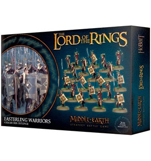 Lord of the Rings Easterling Warriors Middle-Earth Strategy Battle Game