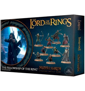 Lord of the Rings Fellowship of the Ring Middle-Earth Strategy Battle Game