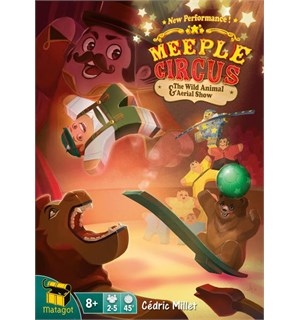 Meeple Circus Wild Animal & Aerial Show Utvidelse til Meeple Circus