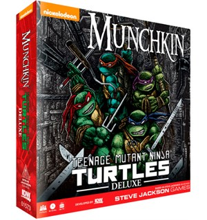 Munchkin TMNT Deluxe Kortspill Teenage Mutant Ninja Turtles
