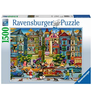 Painted Ladies 1500 biter Puslespill Ravensburger Puzzle