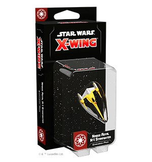 Star Wars X-Wing Naboo Royal N-1 Starfig Utvidelse til Star Wars X-Wing 2nd Ed