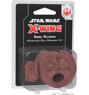 Star Wars X-Wing Rebel Dial Upgrade Rebel Alliance Maneuver Dial Upgrade Kit