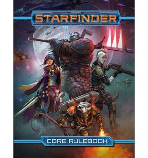 Starfinder RPG Core Rulebook Roleplaying Game - Regelbok
