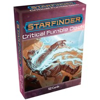 Starfinder RPG Critical Fumble Deck Roleplaying Game - 52 kort