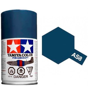 Tamiya Airspray AS-8 Navy Blue US Army Tamiya 86508 - 100ml