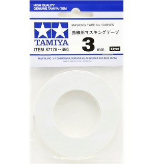 Tamiya Masking Tape For Curves - 3mm