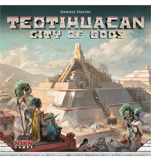 Teotihuacan City of Gods Brettspill