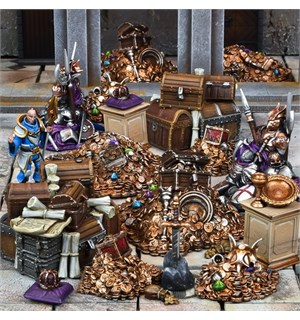 Terrain Crate Treasury Fra Mantic Games - 22 deler