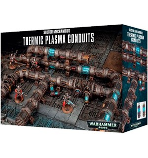 Thermic Plasma Conduits Warhammer 40K Sector Mechanicus
