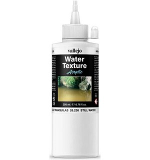 Vallejo Water Texture Acrylic 200ml Water Still Water