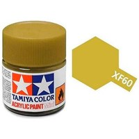 Akrylmaling MINI XF-60 Dark Yellow Tamiya 81760 - 10ml
