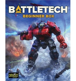 Battletech RPG Beginner Box 2018 Edition Startpakke for Battletech