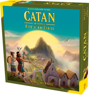 Catan Rise of the Inkas Engelsk