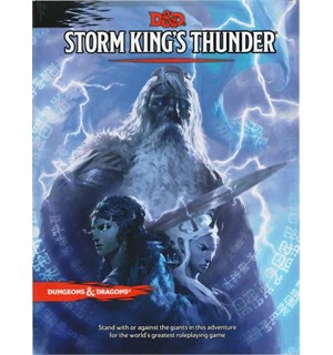 D&D Adventure Storm Kings Thunder Dungeons & Dragons Scenario Level 1-11