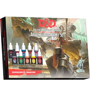 D&D Army Painter Adventurers Paint Set 10 malinger Nolzur's Marvelous Pigments