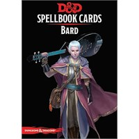 D&D Cards Spellbook Bard Dungeons & Dragons - 128 kort