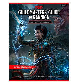 D&D Maps Guildmasters Guide to Ravnica Dungeons & Dragons - Maps and Miscellany