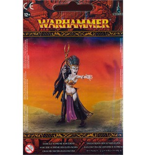 Dark Elf Supreme Sorceress Warhammer Fantasy