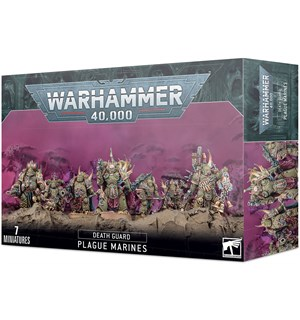 Death Guard Plague Marines Warhammer 40K