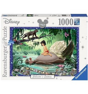 Disney Jungle Book 1000 biter Puslespil Ravensburger Puzzle