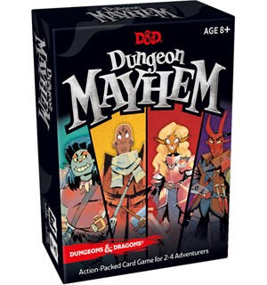 Dungeon Mayhem Kortspill Dungeons & Dragons