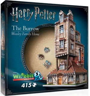 Harry Potter 3D Puslespill The Burrow Weasley Family Home - 415 brikker