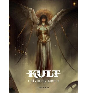 Kult RPG Core Rules Divinity Lost - 4th Edition - Regelbok